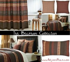 The Beckham Collection / Like us on Facebook! www.facebook.com/allysonsplacedecor / #Primitive #Country #Décor #Quilt