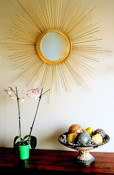 DIY Sunburst Mirror Tutorial