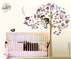 Beautiful Wall stickers for girl's nursery!