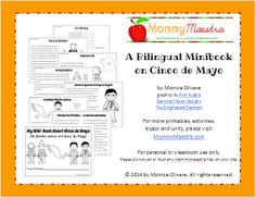 Mommy Maestra: Printables on the REAL History Behind Cinco de Mayo