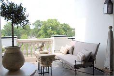 {Cote de Texas: Ginger Barber Designed Townhouse}  Terrace