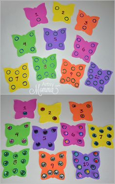 DIY Busy Bag for Preschool Skills kids learning, busi bag, number, busy bags for preschoolers