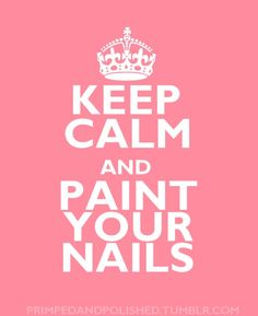 paint your nails...