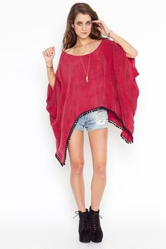 sweater, calient cape, red, shirts, capes