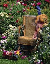 My kind of chair for relaxation in my garden...
