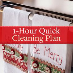 Holiday Time Housecleaning Tips: Print Out Checklists