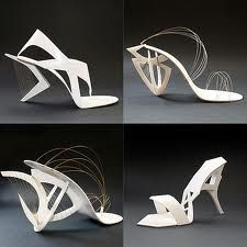 Architecture inspired shoes