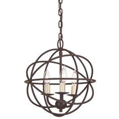 I pinned this Globe Chandelier from the My Blessed Life event at Joss and Main!