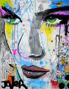 "Saatchi Online Artist Loui Jover; Drawing, ""Y"" #art"