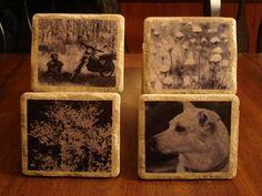 stone coasters gift, tile stone, tile coasters