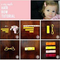 How to Make Hair Bow - DIY Trick to make Hair Bow at Home