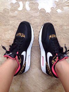 Nike Air Max 1woman (Black Leopard)