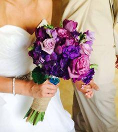 Bridesmaids bouquet, add green hypericum