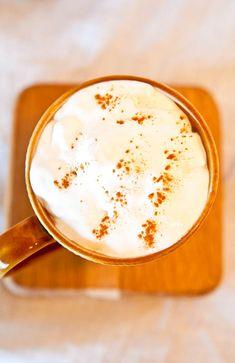 Starbucks Pumpkin Spice Latte - Vegan and Gluten Free.