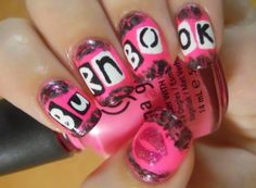 mean girls nails