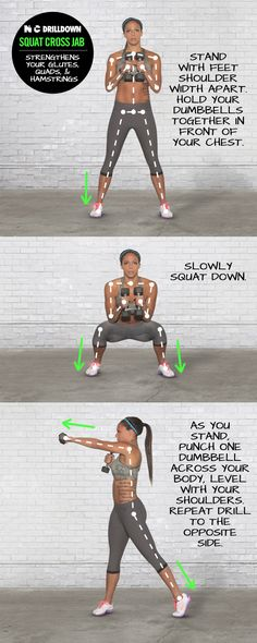 Squat Cross Jab.Get yourself in the best shape of your life with www.gymra.com. Start your free month now!!! Cancel anytime.#fitness #exercise #weightloss #diet #fitspiration #fitspo #health