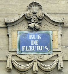 Rue de Fleurus, Paris; 27