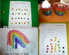 Have you ever had math fun with Skittles? Your kids will love doing these patterns and graphing activities!