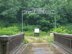 Hatfield Cemetery Entrance by jimmywayne, via Flickr