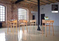 Standing desk / lecture SIXtematic by László Szikszai, via Behance