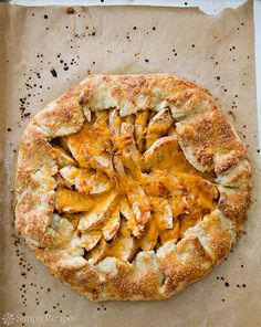 Apple Cheddar Galette on Simply Recipes