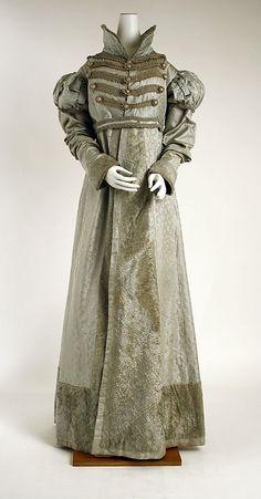 Pelisse: ca. 1820, American (silk)
