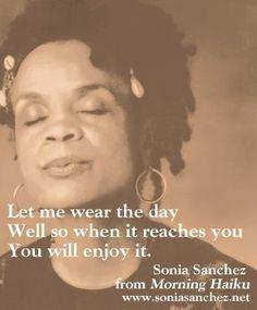 Sonia Sanchez quotes