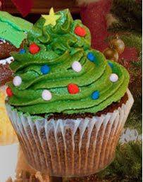 christma decoridea, tree frost, cupcak, christma idea, christma food, christma fun, christma parti, parti frost, christmas trees