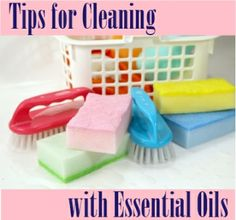 Cleaning with Spark Naturals essential oils