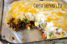 Cheesy Easy Shepard's Pie