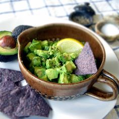Easy Avocado Salsa via @Elizabeth Lindemann/ // #avocado #easy #simple #recipe
