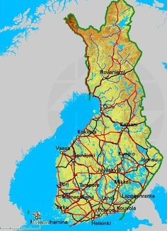 main cities in finland