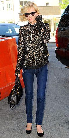 Lace. Fabulous :)