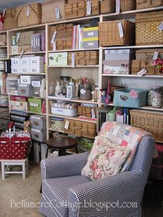 Bellamere Cottage: Where Bloggers Create Studio Tour!