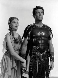"""Image detail for -Deborah Kerr and Robert Taylor in """"Quo Vadis"""" (1950 - MGM)"""