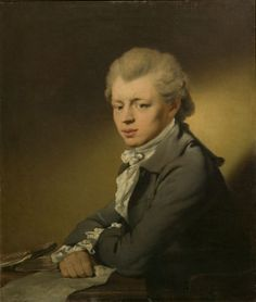 Charles Harvey, Reinagle, Philip, painted 1775, Oil on canvas. Bequeathed by Claude D. Rotch.