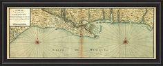Mexico gulf coast map