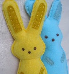 Bunny Pals. Celebrate Easter by making adorable Easter sewing projects like the Bunny Pals. They're holiday and Spring appropriate and the kids will love them. Take a look at this Easter sewing project for holiday fun. #sewing