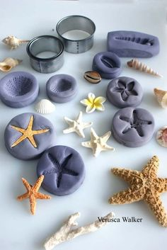 Making your own mold with leftover fondant.