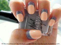 modern classic, orang, nail polish, french manicures, polish nails, colors, summer nails, nail arts, peach