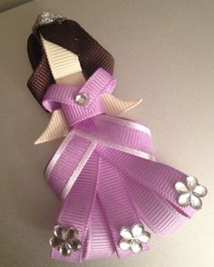 Sofia The First ribbon sculpture