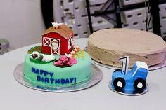 Barnyard First Birthday Party