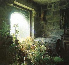 Bohemian window.   #trunk #gypsy #decor #romantic #shabbychic