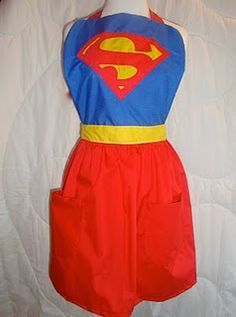 Super Hero aprons