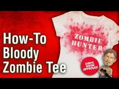 How-To Make a Zombie Shirt Inspired by the Walking Dead