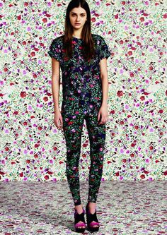 Bulbous Floral Fashions - The Mary Katrantzou for Topshop Collaboration is Extremely Structural (GALLERY)