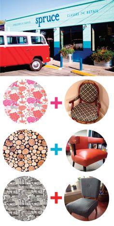 Spruce Upholstery Book via yuppielove.org