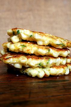 Corn Fritters + recipe #summerrecipe #corn