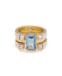 Blue Jewel Ring.