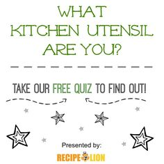 """Are you more of a spatula? Or a spork? Take this """"What Kitchen Utensil are You?"""" quiz to find out! 